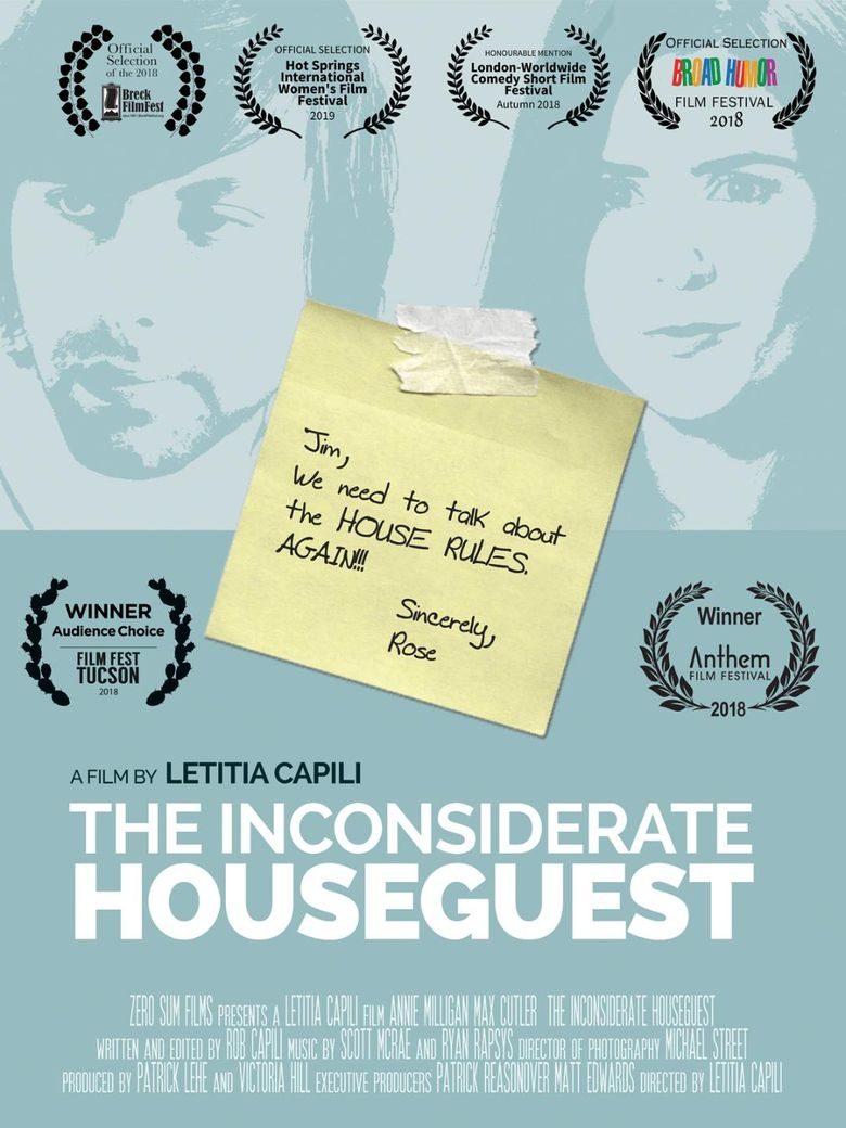 The Inconsiderate Houseguest Poster
