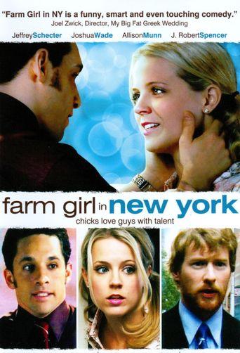 Farm Girl in New York Poster