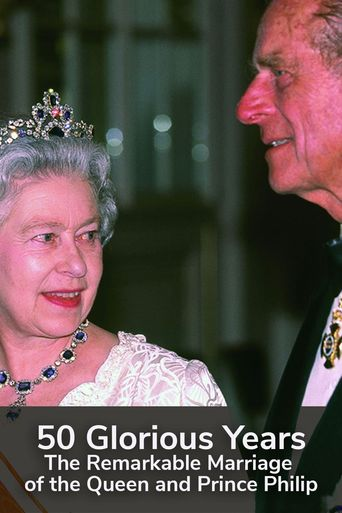 50 Glorious Years: A Royal Celebration Poster