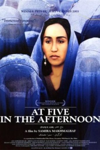 At Five in the Afternoon Poster