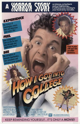 How I Got Into College Poster