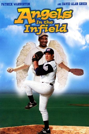 Angels in the Infield Poster