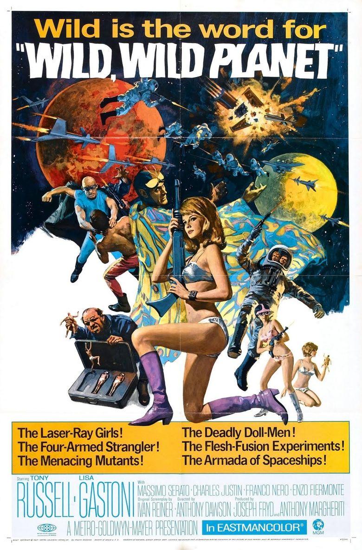 The Wild, Wild Planet Poster