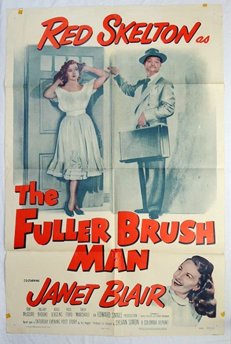 The Fuller Brush Man Poster