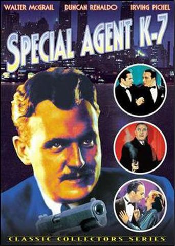 Special Agent K-7 Poster