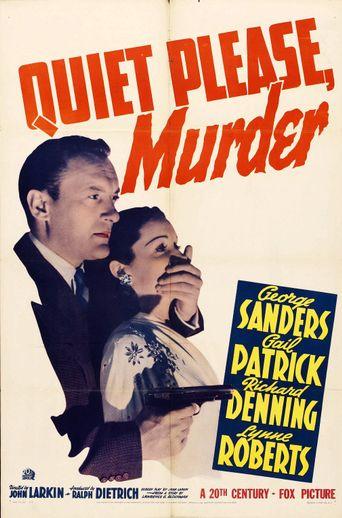 Quiet Please Murder Poster