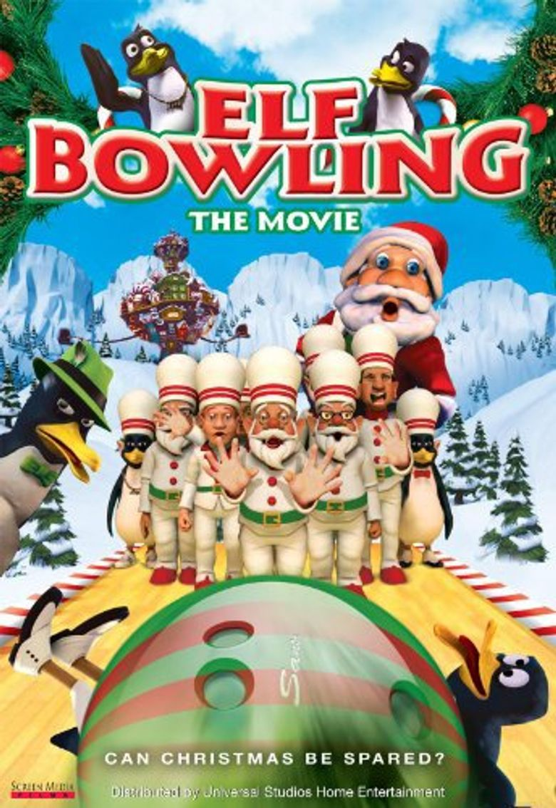 Elf Bowling the Movie Poster