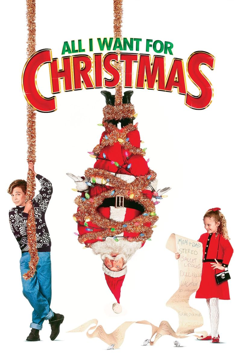 All I Want for Christmas Poster