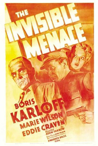 The Invisible Menace Poster