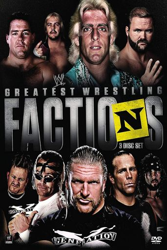 WWE: Presents...Wrestling's Greatest Factions Poster