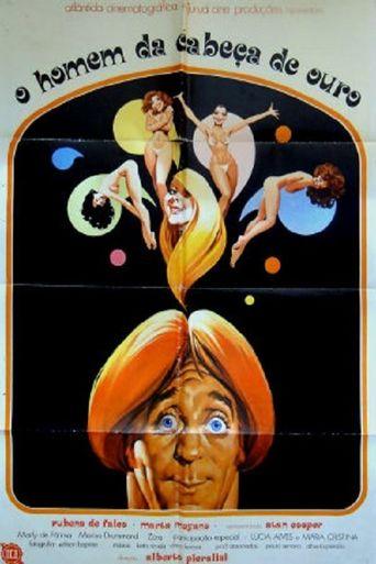 O Homem da Cabeça de Ouro Poster