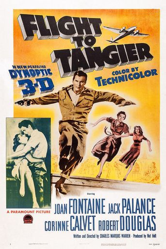 Flight to Tangier Poster