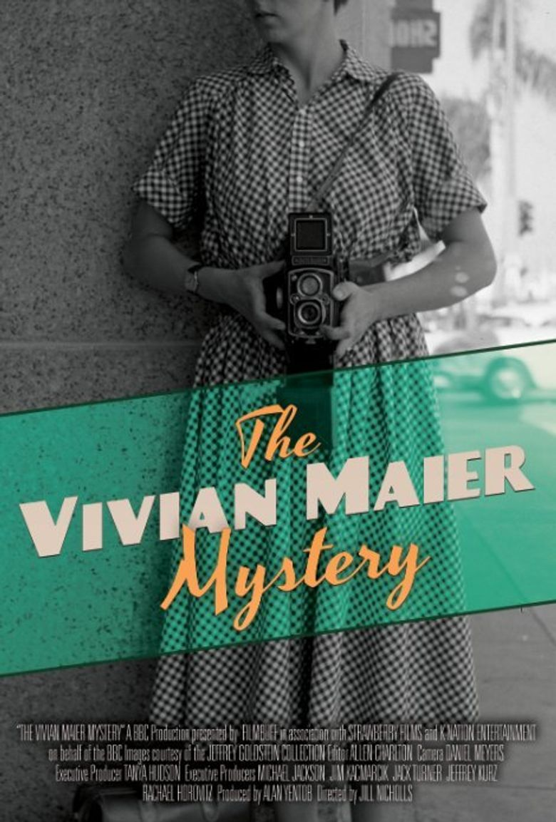 The Vivian Maier Mystery Poster