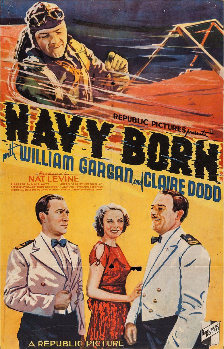Navy Born Poster