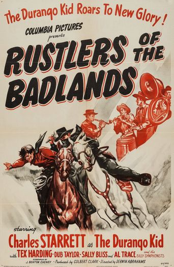 Rustlers of the Badlands Poster