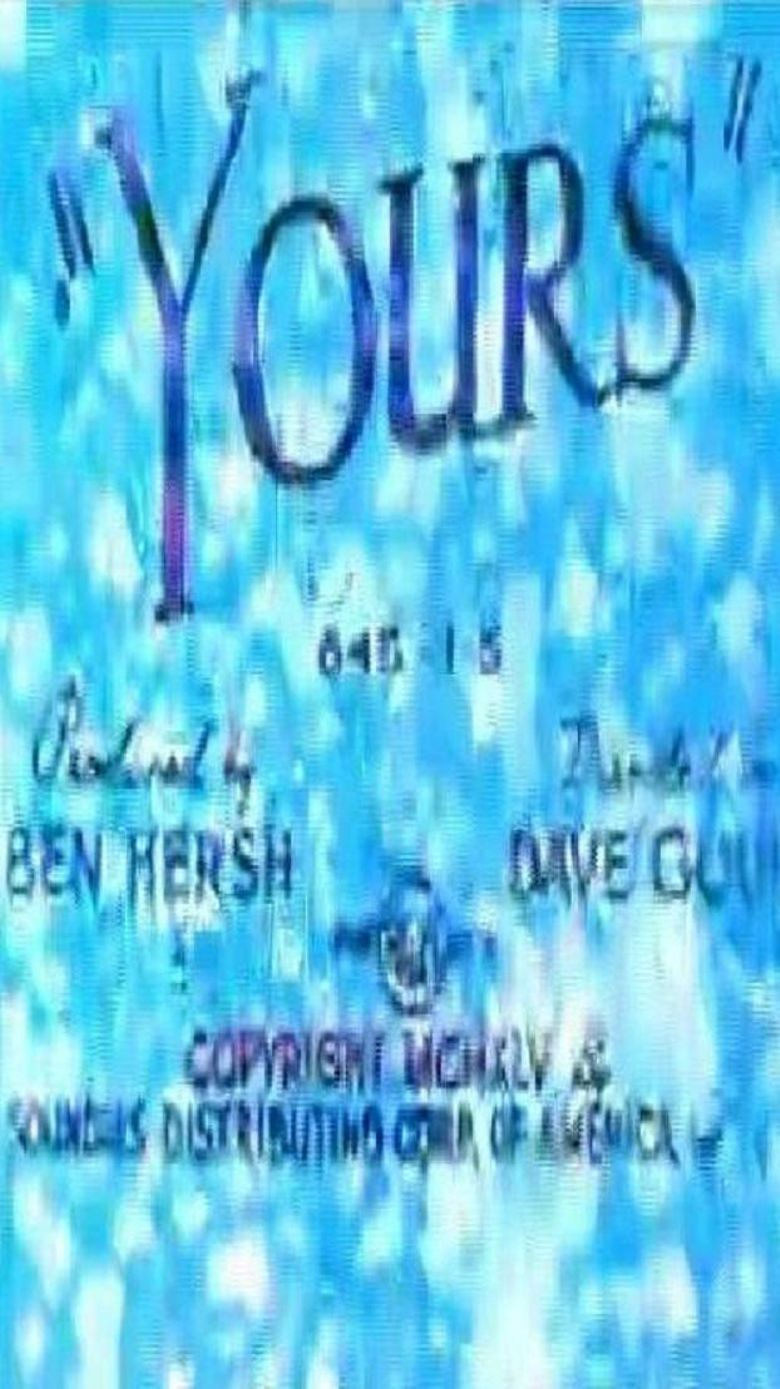 Yours Poster