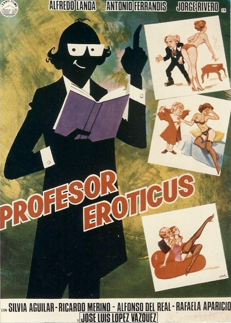 Profesor eróticus Poster