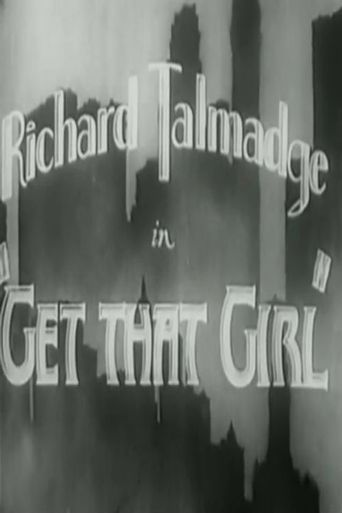 Get That Girl Poster