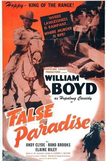 False Paradise Poster