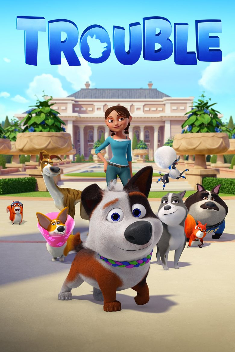 Dog Gone Trouble Poster