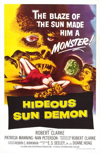 The Hideous Sun Demon Poster