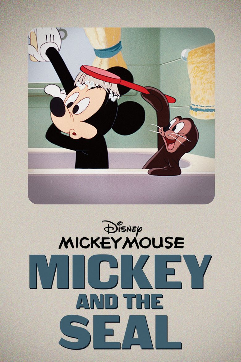 Mickey and the Seal Poster