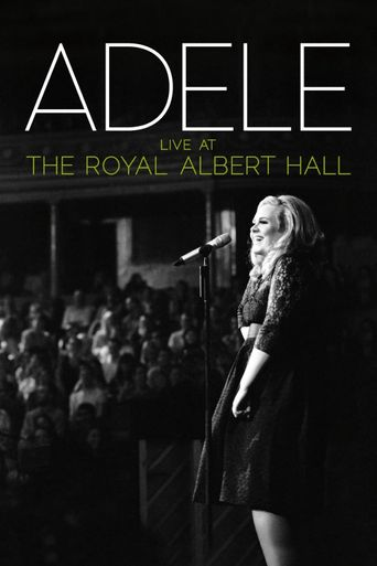 Adele: Live at the Royal Albert Hall Poster