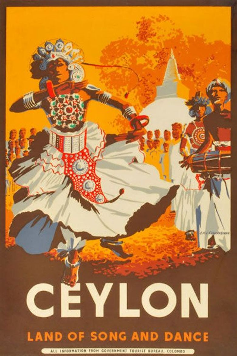 The Song of Ceylon Poster
