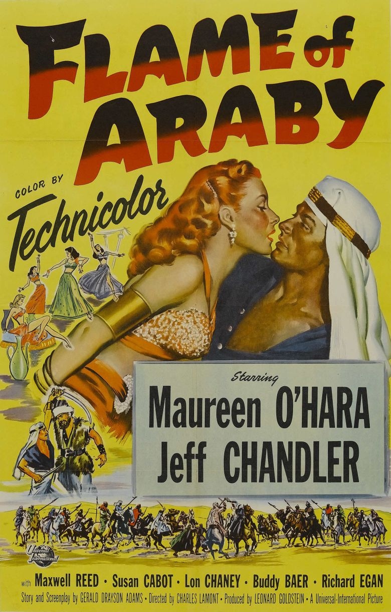 Flame of Araby Poster