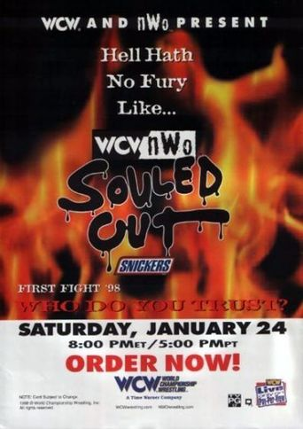 WCW Souled Out 1998 Poster