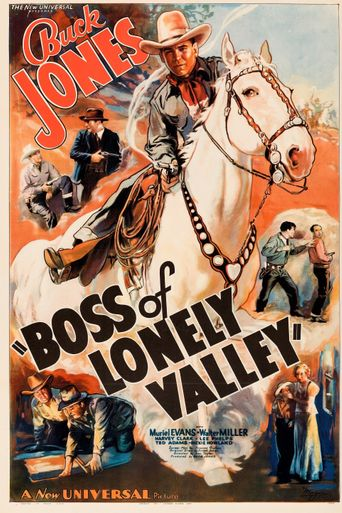 Boss of Lonely Valley Poster