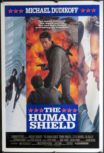The Human Shield Poster