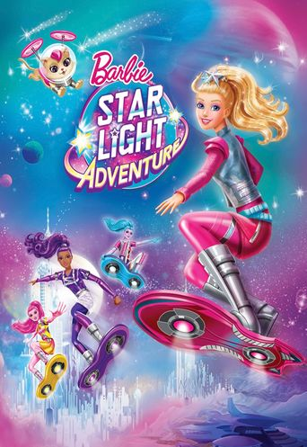 Barbie: Star Light Adventure Poster