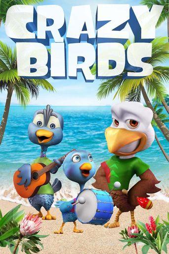 Crazy Birds Poster