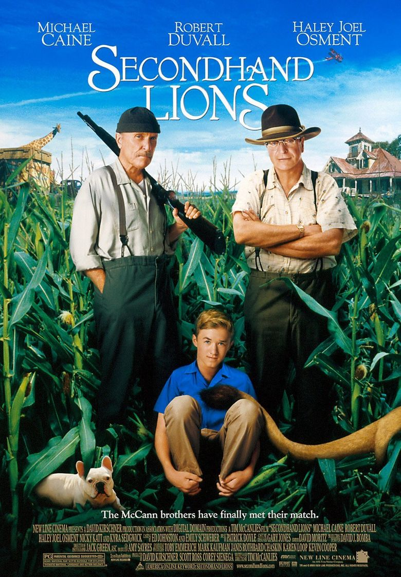 Secondhand Lions Poster