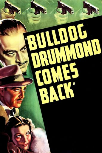 Bulldog Drummond Comes Back Poster