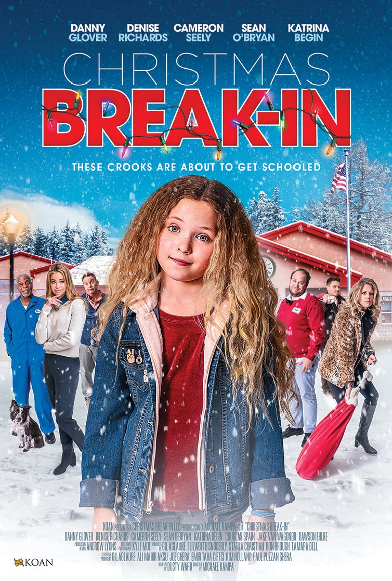 Christmas Break-In Poster