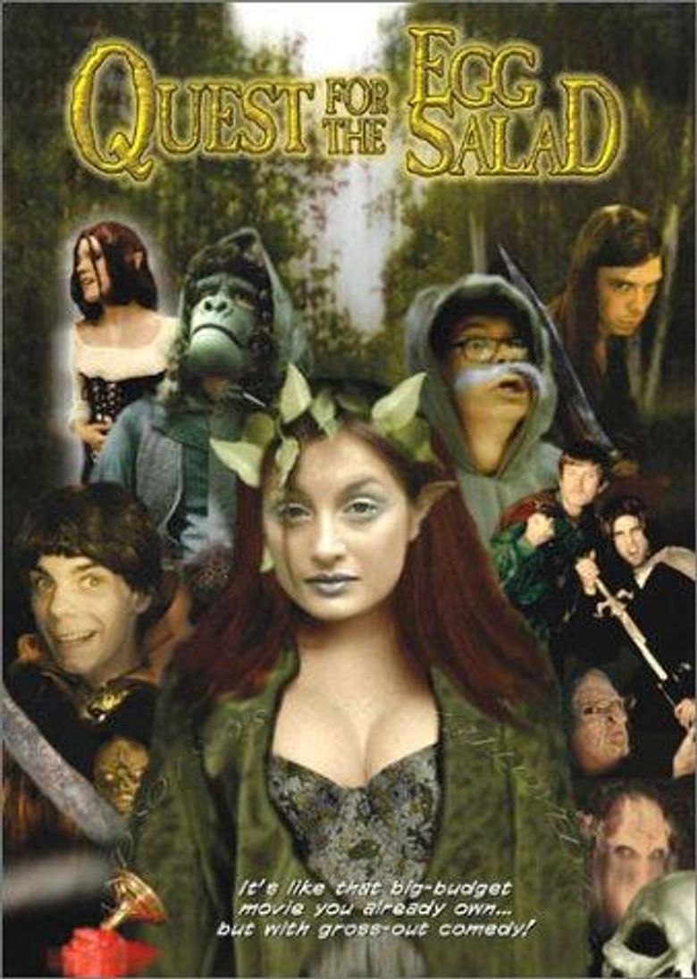 Quest for the Egg Salad Poster