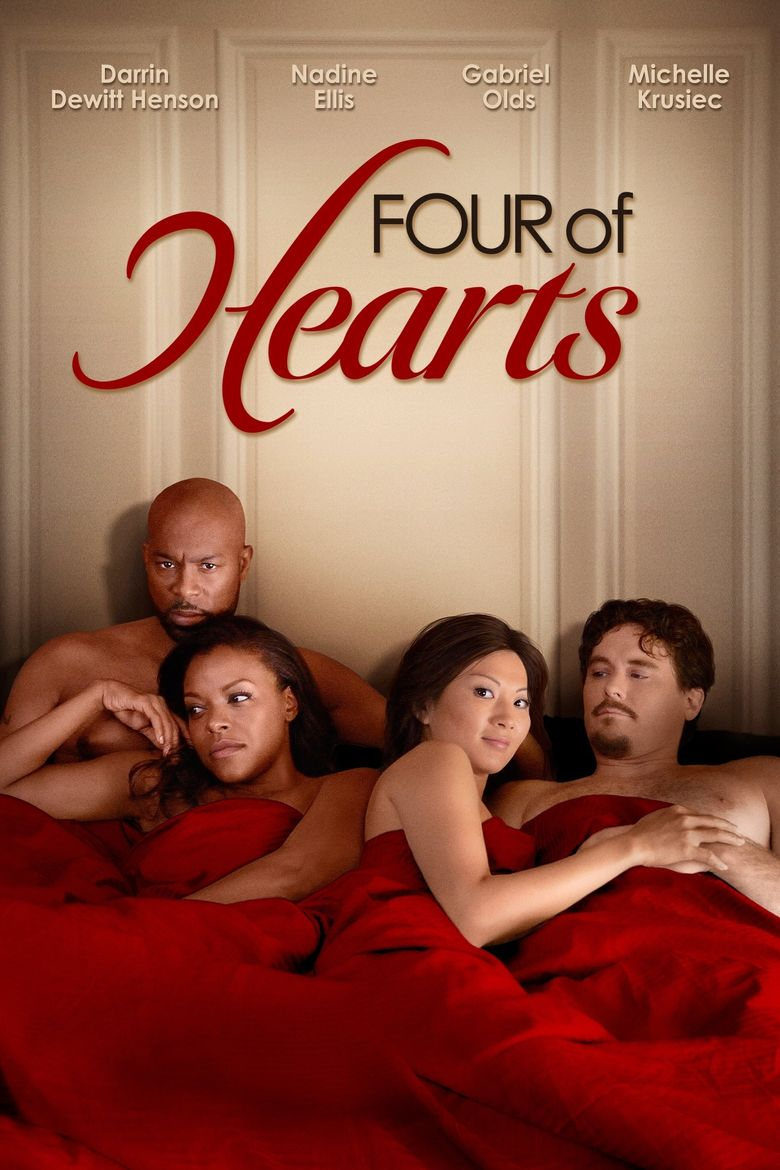 Four of Hearts Poster
