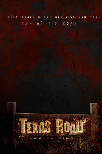 Texas Road Poster