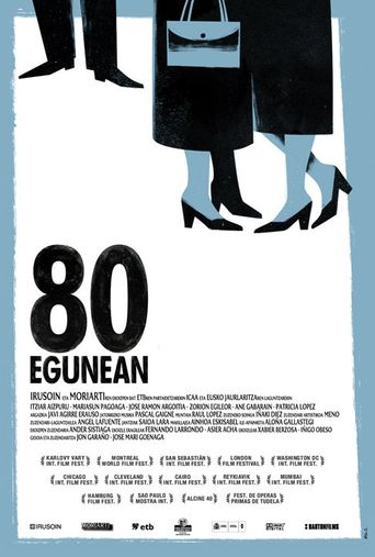 For 80 Days Poster