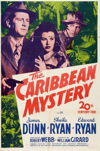 The Caribbean Mystery Poster