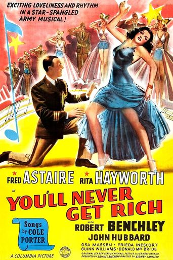 You'll Never Get Rich Poster