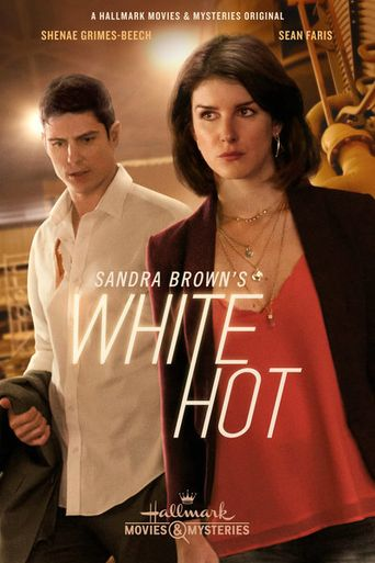 Sandra Brown's White Hot Poster