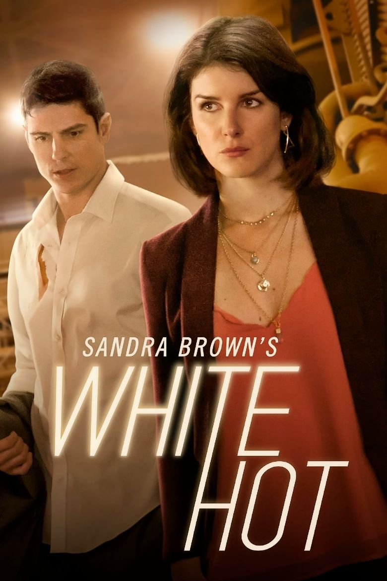 Sandra Brown's White Hot Poster