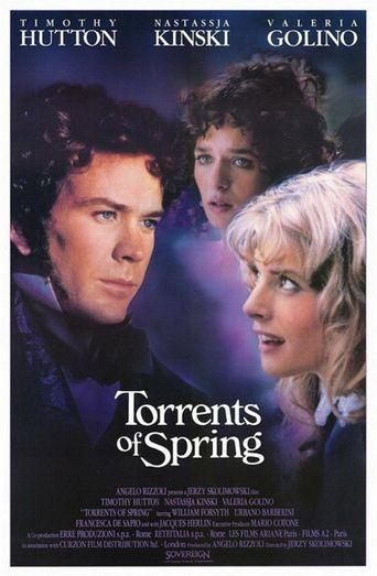 Torrents of Spring Poster