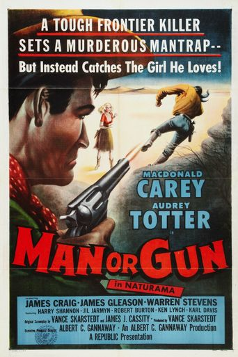Man or Gun Poster