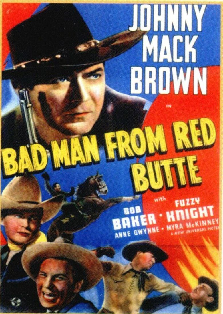 Bad Man from Red Butte Poster