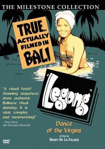 Legong: Dance of the Virgins Poster