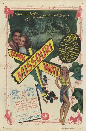 Down Missouri Way Poster